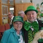 Volunteers on St. Patrick's Day